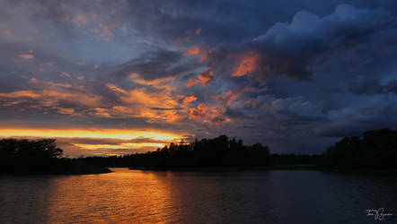 August Sunset by Pajunen