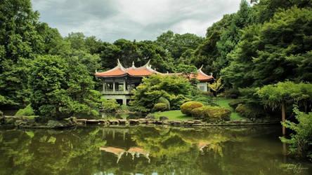 Japanese Garden by Pajunen