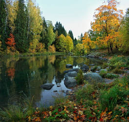 October River by Pajunen