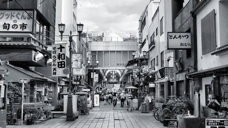 Asakusa Tokyo by Pajunen