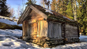 An old shed by Pajunen