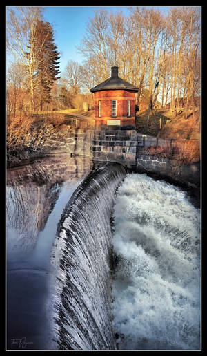 Old Town Dam in Spring by Pajunen
