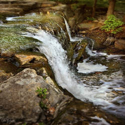A small waterfall by Pajunen