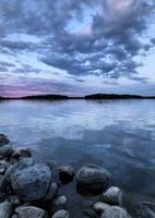 Blue July Evening