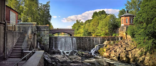 Old Town Dam in July