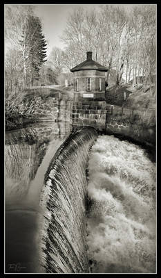 Old Town Dam in Spring