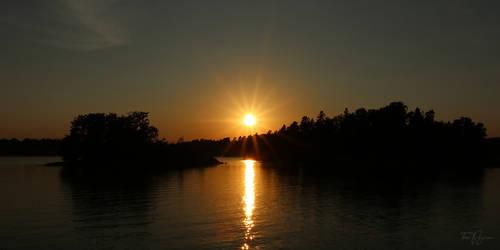 The Sun Setting Down
