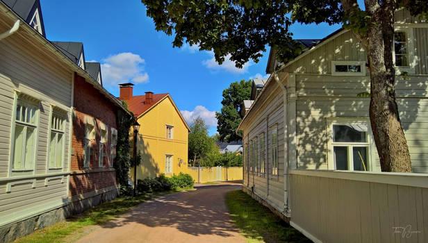 Tammisaari old town