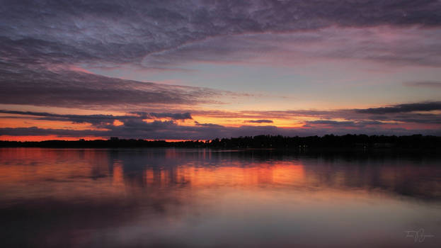 Sunset Waterscape