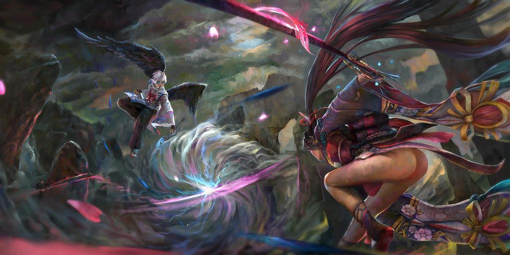 Onmyoji - Fight by wifc