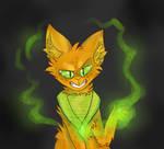 green fire is cooler than orange fire