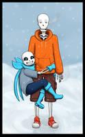 [Underswap] Skelebros! by ShogunX3