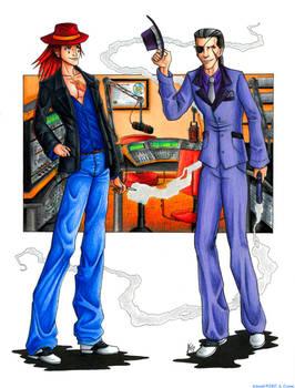Axel and Xigbar - Gangsters