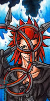 Axel Bookmark by psycrowe
