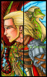 Basch And Drae Bookmark Set