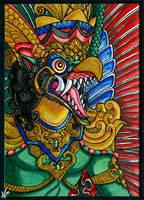 ATC - Garuda by psycrowe