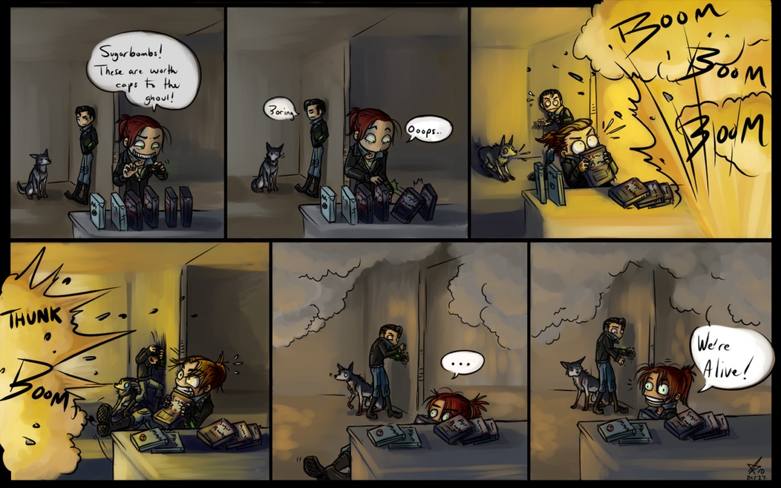 Fallout 3 Anime Characters : Fallout sugarbombs by psycrowe on deviantart
