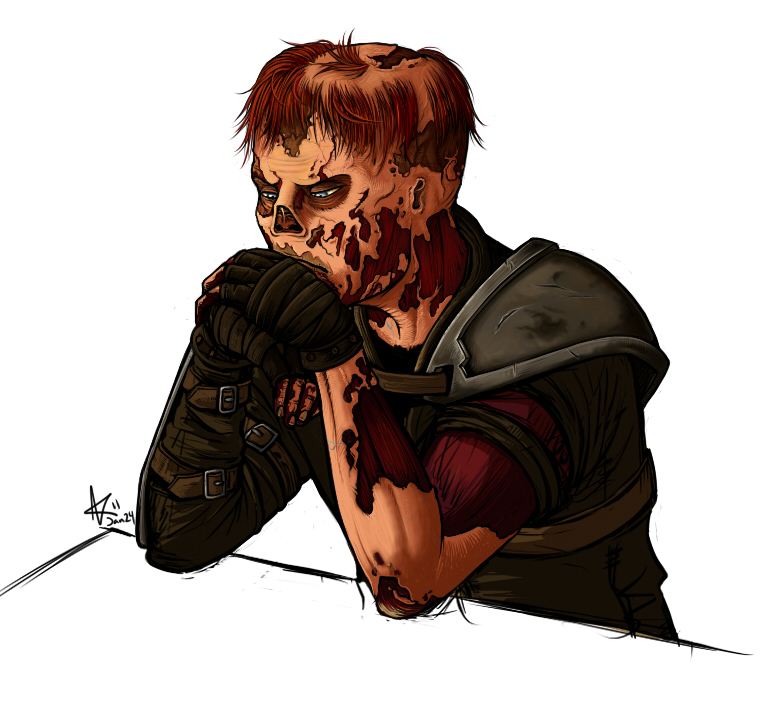 Fallout 3 Thoughtful Charon By Psycrowe On Deviantart