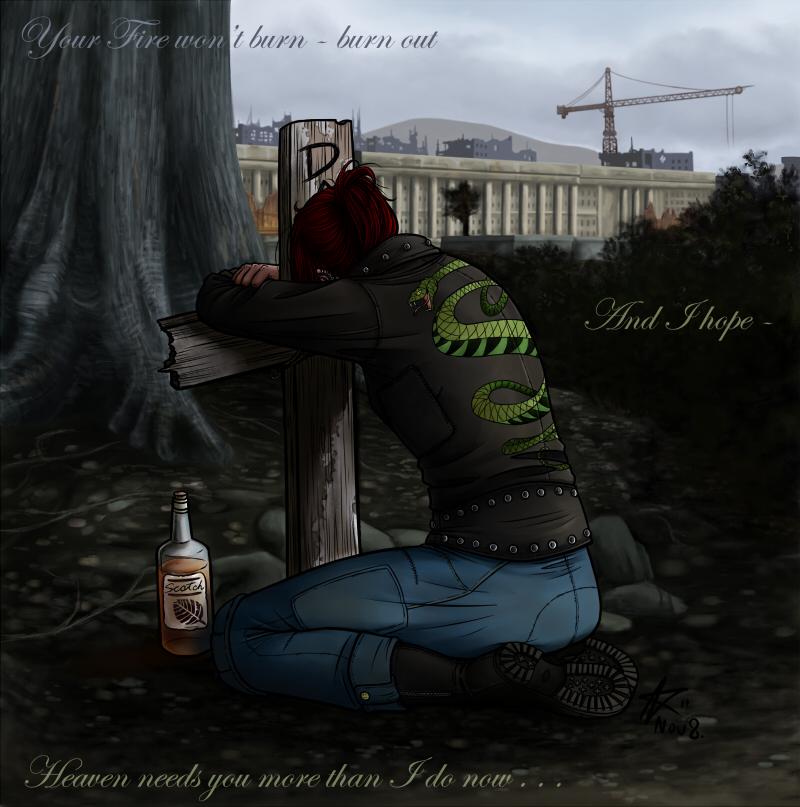 Fallout 3 Fan Art: I Miss You By Psycrowe On DeviantArt