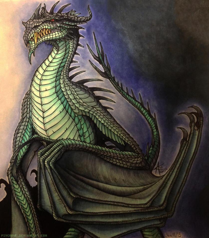 Frost Dragon: Frost Dragon By Psycrowe On DeviantArt