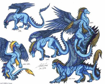 Draekard Evolution by psycrowe