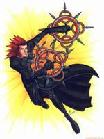 Axel by psycrowe