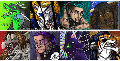 LJ Icons - batch 1 by psycrowe