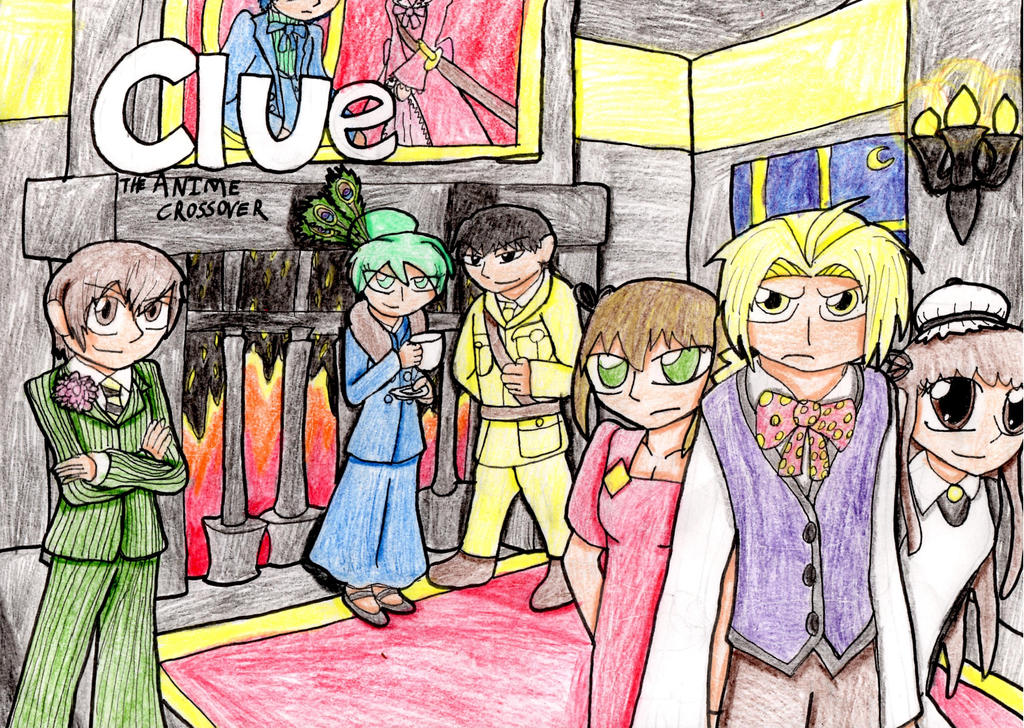Clue: The Anime Crossover By CJCroen On DeviantArt
