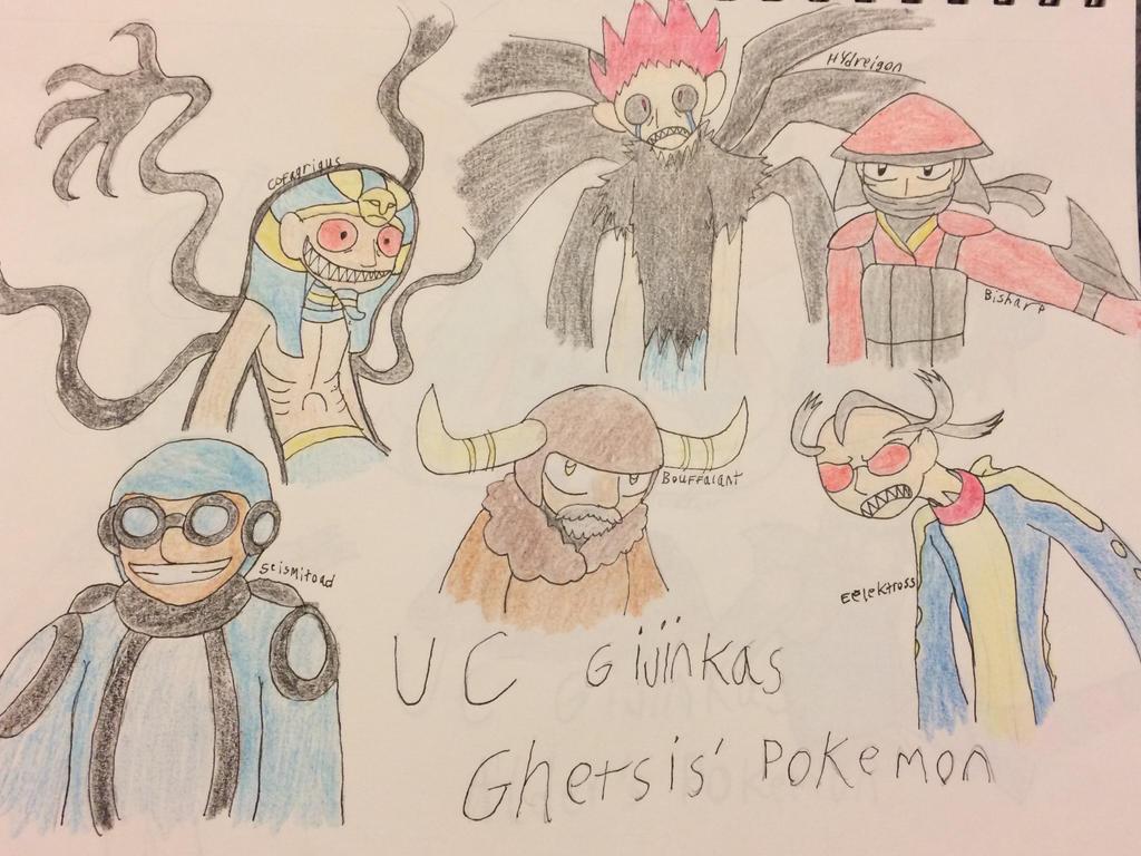 UC Gijinkas Team Ghetsis by CJCroen