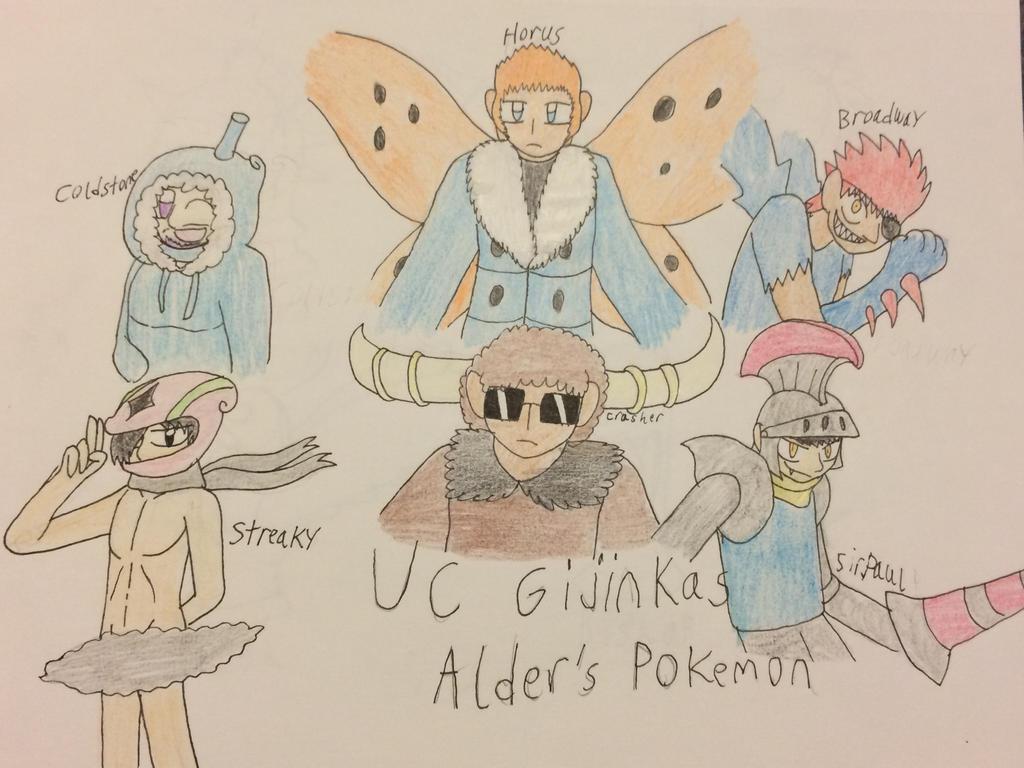 UC Gijinkas Team Alder by CJCroen