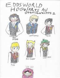 Eddsworld Hogwarts AU: Extra Characters Pt. 2 by CJCroen