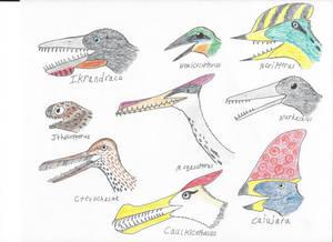 Pterosaur Heads Part 6