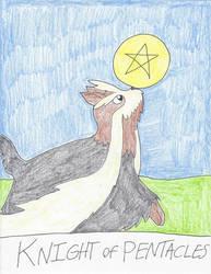 UC Tarot - Knight of Pentacles