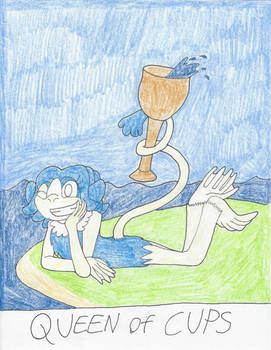 UC Tarot - Queen of Cups