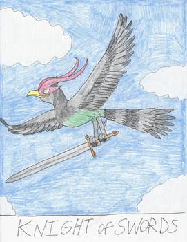 UC Tarot - Knight of Swords