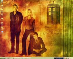 Desktop-Doctor Who by kitkatfox