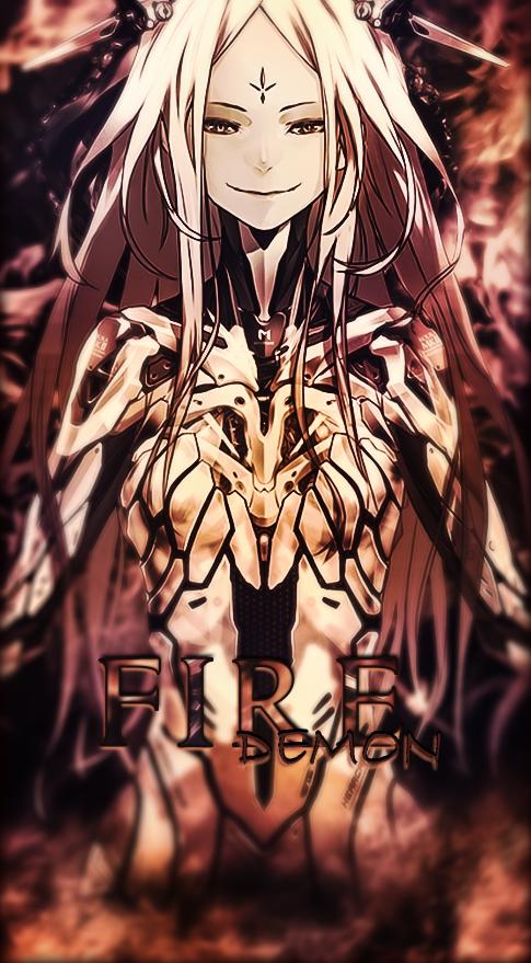 Fire Demon by Yuu-graphique