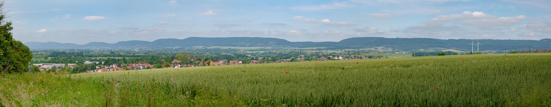View over Fischbeck