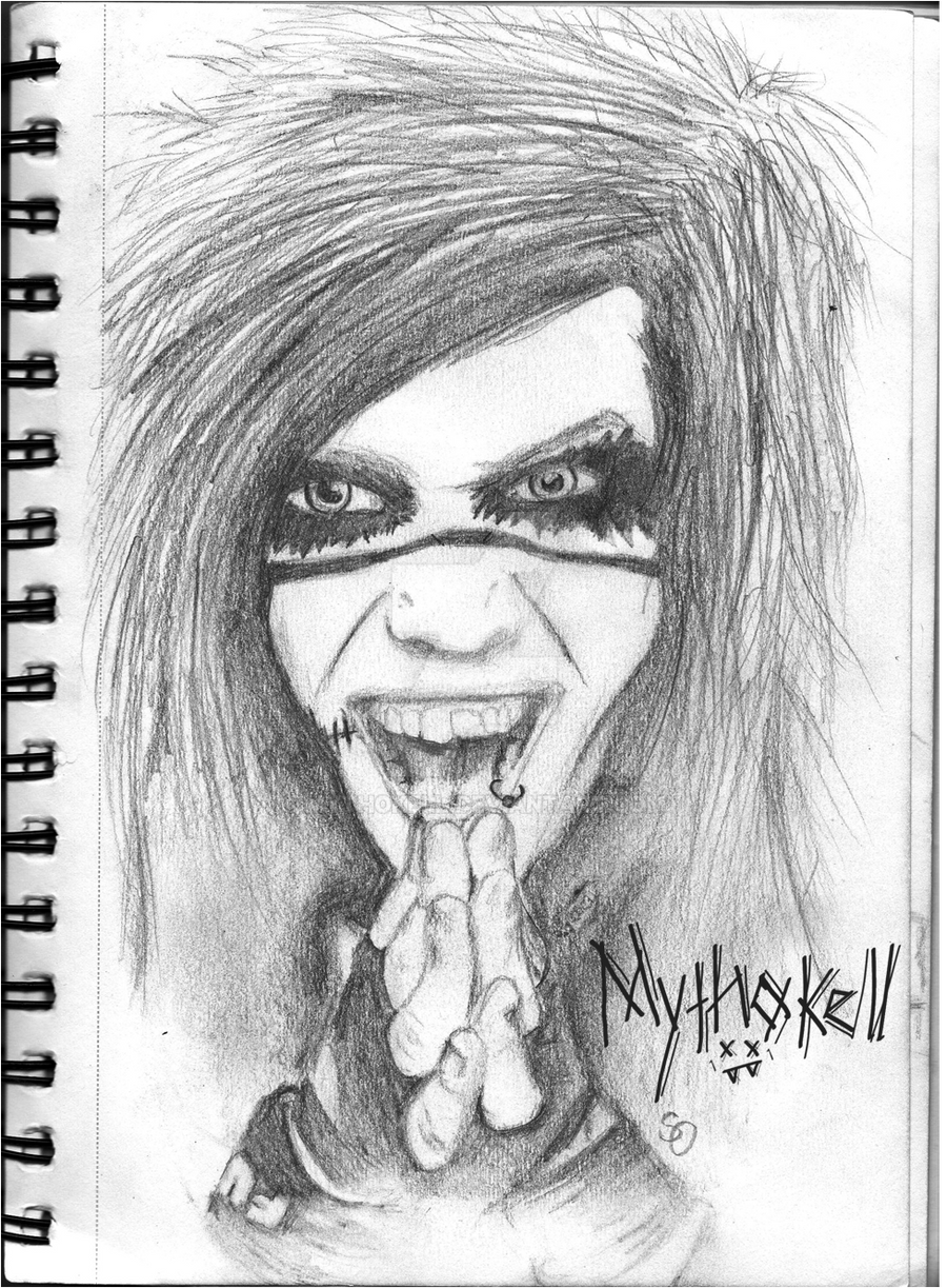 Andy Biersack by Mythokell