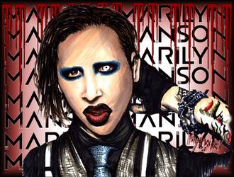 Marilyn Manson by Mythokell