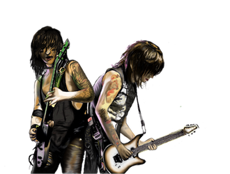 Jake and Jinxx ~ BVB by Mythokell