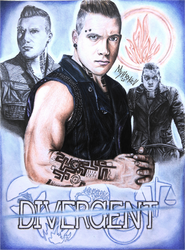Eric - Divergent Drawing by Mythokell