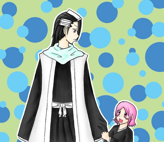bleach Byakuya and Yachiru by  Yachiru And Byakuya