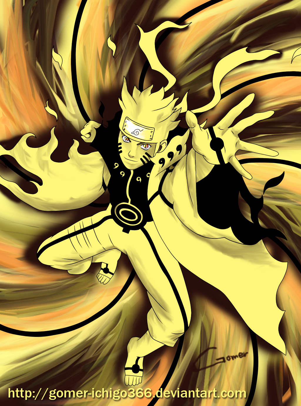 Kyuubi Mode Naruto The gallery for -->...