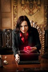 Regina Mills -Evil Queen by Almost-Human-Cosband