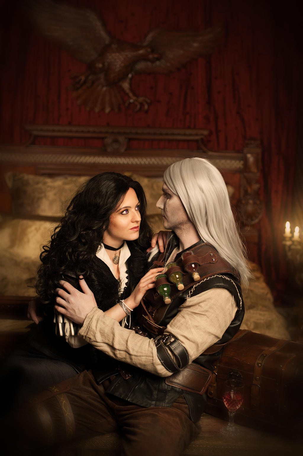 geralt and yennefer by - photo #35