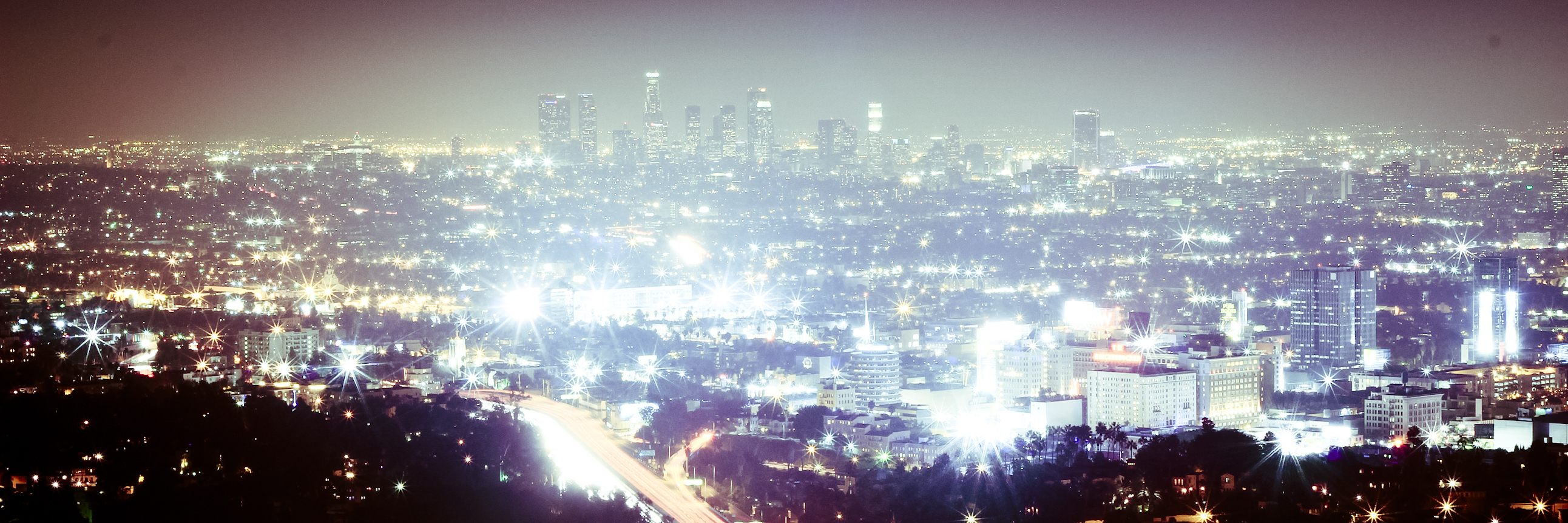 Los Angeles night... by anaelmasri