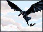 How to train a dragon - Night Fury