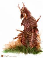 Samurai by thequickbrownfox
