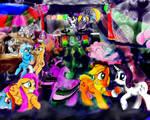 Request: Pony Rave